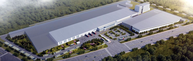 圣戈班石膏建材(长兴)有限公司年产60pt新型建材国际施工总娱乐娱乐