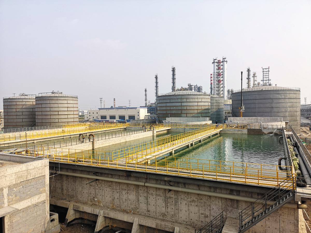 河北鑫海化工集团800m³/h污水处理场